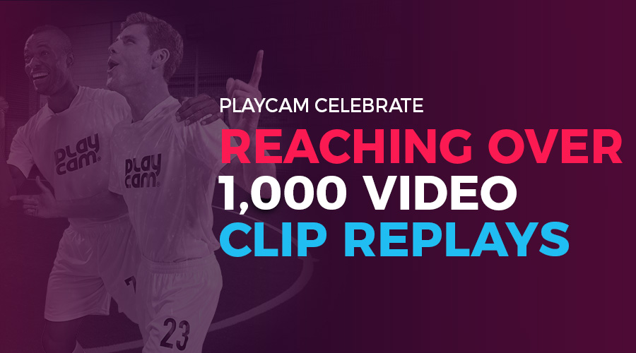 1,000 Football Replay Milestone - 5-A-Side - 7-A-Side - PlayCam UK