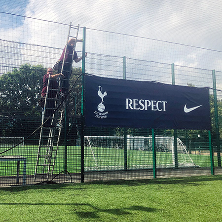 Football Replay Service - Tottenham Hotspur - Football Camera Installation
