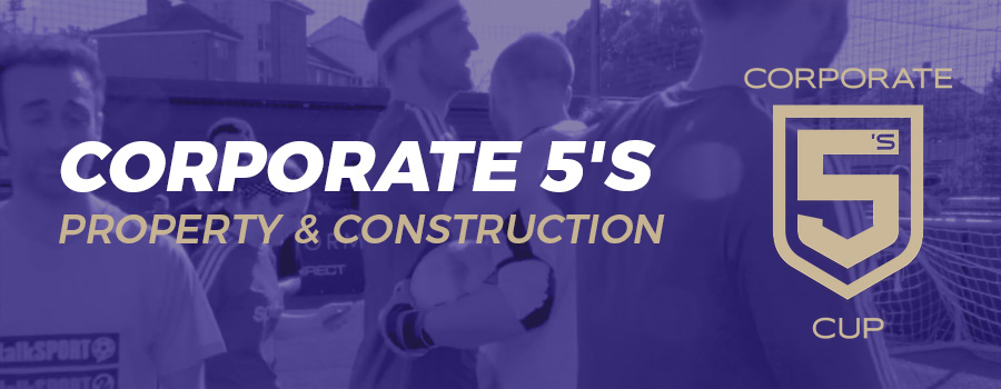 5-A-Side Tournament 2020 - Property & Construction - Corporate 5's Cup - PlayCam UK