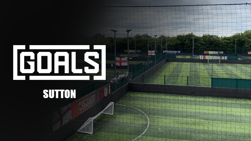 Goals Sutton - South West London - North Cheam - 5-A-Side Football - PlayCam UK
