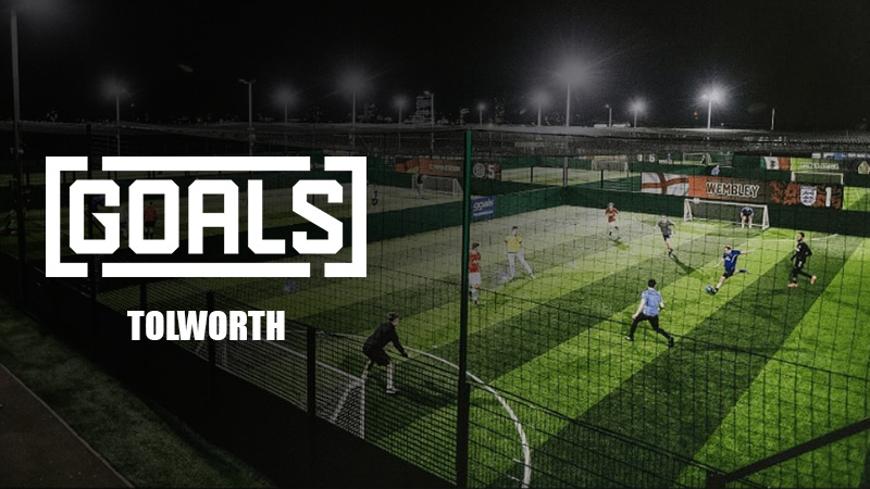 Goals Tolworth - South West London - Surbiton - 5-A-Side Football - PlayCam UK