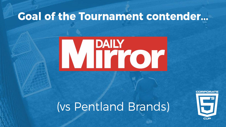 Goal of the Tournament – Contender 1 – Corporate 5's Cup