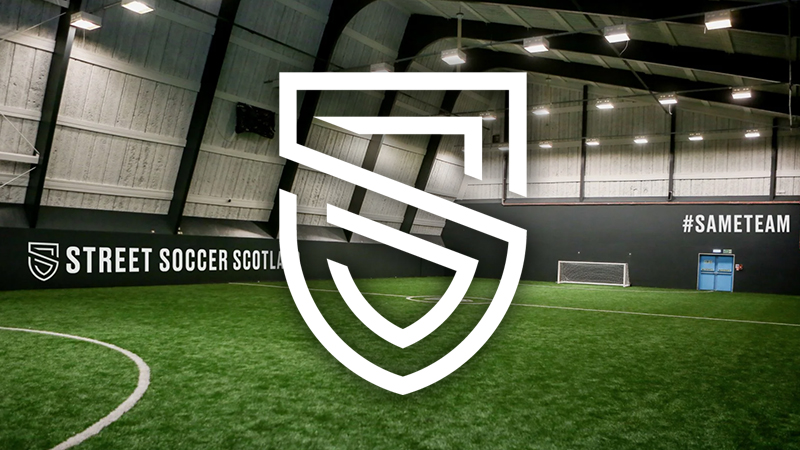 Street Soccer Scotland - Change Centre Dundee 5-A-Side Football - PlayCam UK